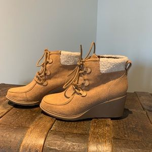 Camel ankle boots for Fall/winter